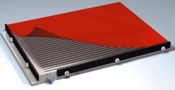 Drážkové upínací desky s gumovými adaptéry