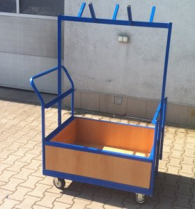 Vozík na vázací prostředky